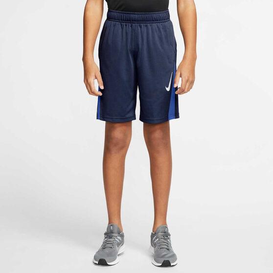 Nike Boys Training Shorts, Navy, rebel_hi-res