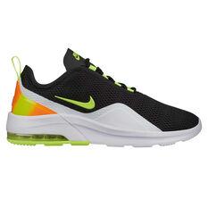 Nike Air Max Motion 2 Mens Casual Shoes Black / Yellow US 7, Black / Yellow, rebel_hi-res