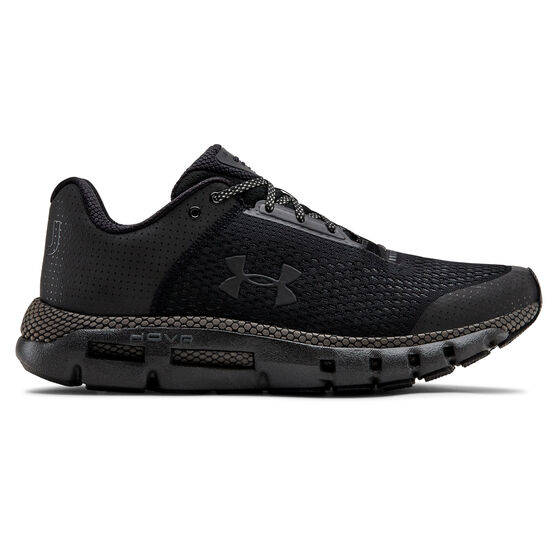 Under Armour HOVR Infinite Dusk to Dawn Mens Running Shoes Black US 7, Black, rebel_hi-res