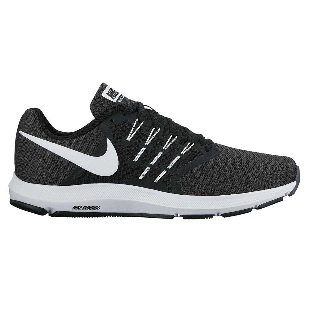 d9f54079135 Nike Run Swift Mens Running Shoes Black / White US 9.5, Black / White,