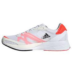 adidas Adizero Adios 6 Mens Running Shoes White/Black US 7, White/Black, rebel_hi-res
