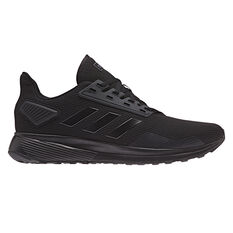 adidas Duramo 9 Mens Running Shoes Black US 6, Black, rebel_hi-res