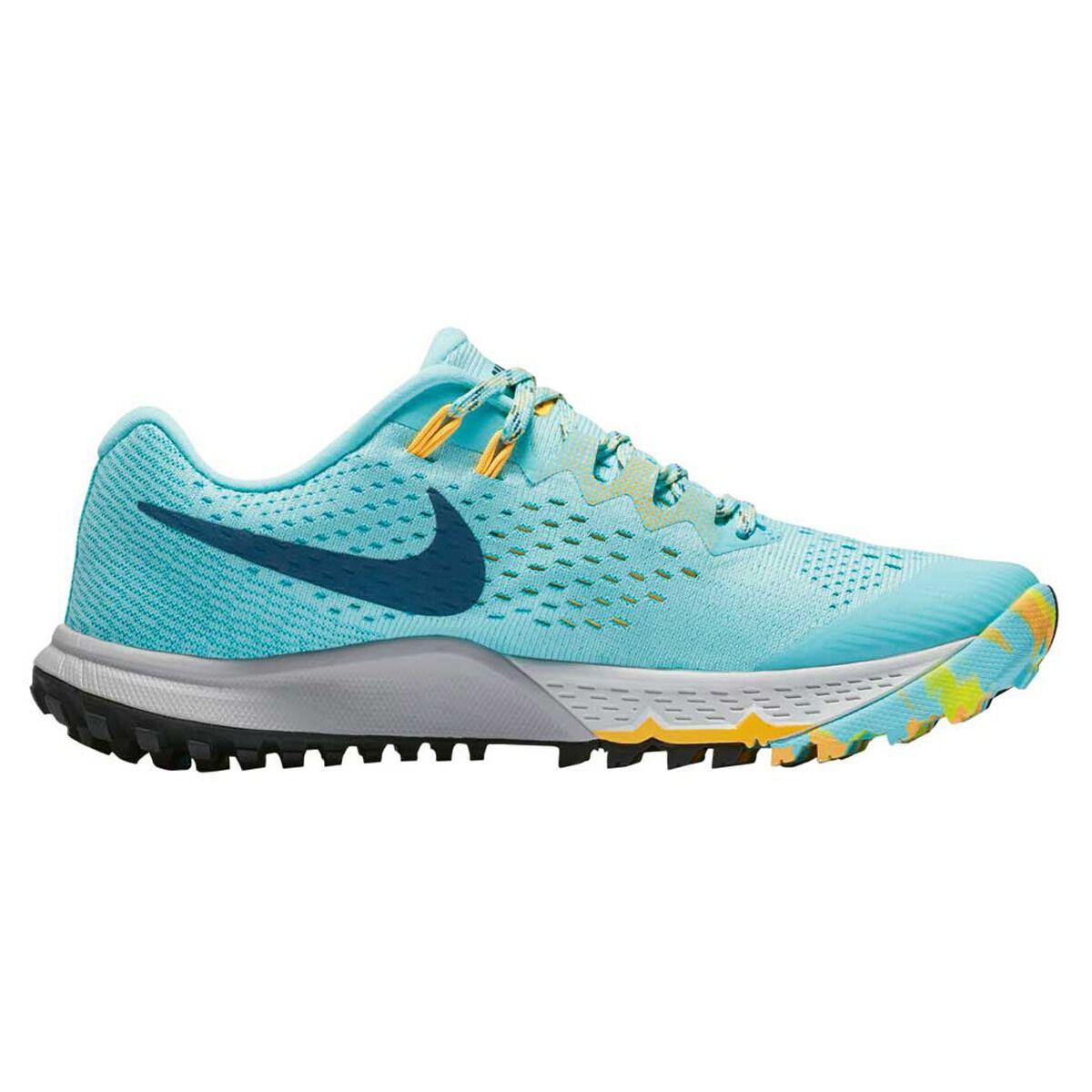 ddbdfca1bb2 ... shop nike air zoom terra kiger 4 womens trail running shoes green blue  us 7 cf43e