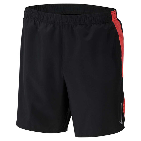 Nike Mens Challenger 7in Brief-Lined Running Shorts, Black, rebel_hi-res
