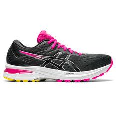 Asics GT 2000 9 Womens Running Shoes Grey/Black US 6, Grey/Black, rebel_hi-res