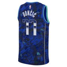 Nike Dallas Mavericks Luka Doncic 2021 Mens ROY Select Jersey Blue S, Blue, rebel_hi-res