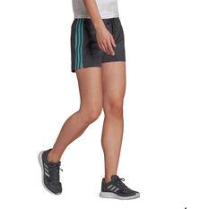 adidas Essentials Slim 3-Stripes Shorts, Grey, rebel_hi-res