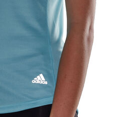 adidas Womens Run It Tee, Blue, rebel_hi-res