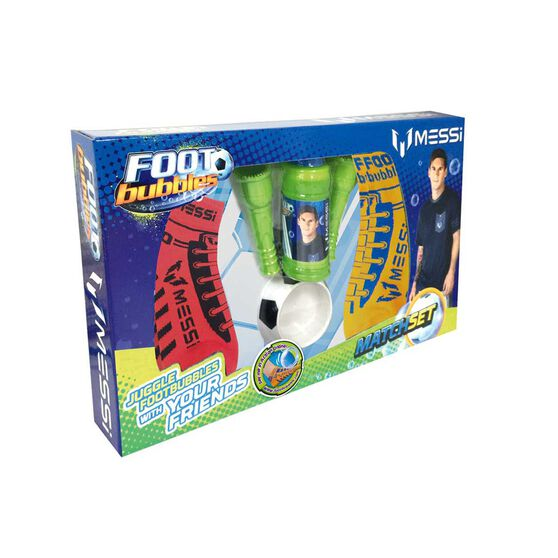 Funtastic Messi Footbubbles Battle Pack, , rebel_hi-res