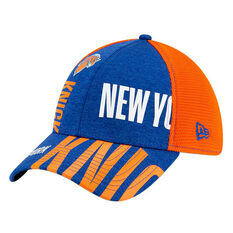 New York Knicks New Era 39THIRTY Tip Off Cap Blue/Orange S/M, Blue/Orange, rebel_hi-res