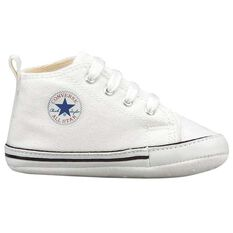 Converse Chuck Taylor First Star Infant Shoes White US 1, White, rebel_hi-res