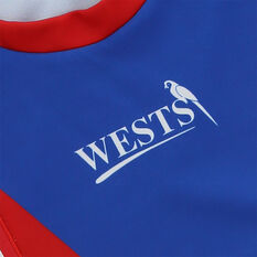 Newcastle Knights 2021 Mens Heritage Jersey, Red/Blue, rebel_hi-res