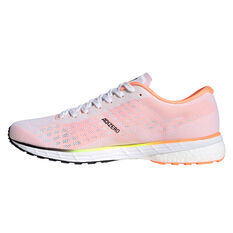 adidas Adizero Adios 5 Mens Running Shoes White/Black US 7, White/Black, rebel_hi-res