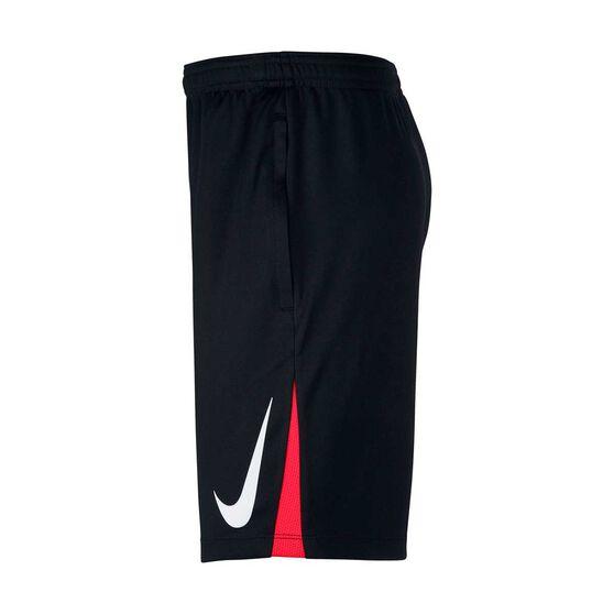 Nike Boys Neymar Jr. Soccer Shorts Black / Red XL, Black / Red, rebel_hi-res