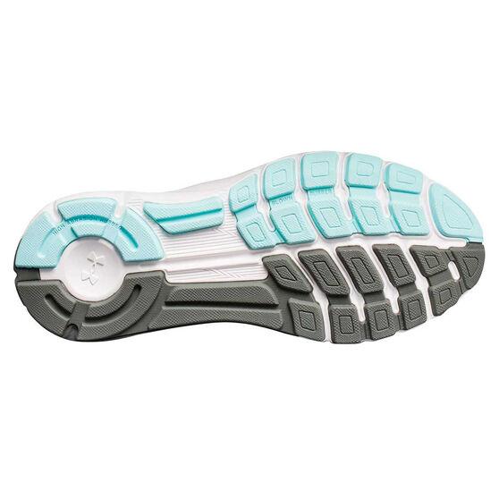 Under Armour SpeedForm Europa Womens Running Shoes, Grey / White, rebel_hi-res