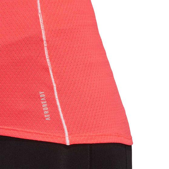 adidas Womens Adi Runner Tee, Pink, rebel_hi-res