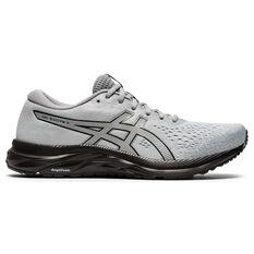 Asics GEL Excite 7 Mens Running Shoes Grey/Black US 7, Grey/Black, rebel_hi-res