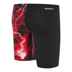 Speedo Boys School Colours Jammer Swim Shorts Red 6, Red, rebel_hi-res