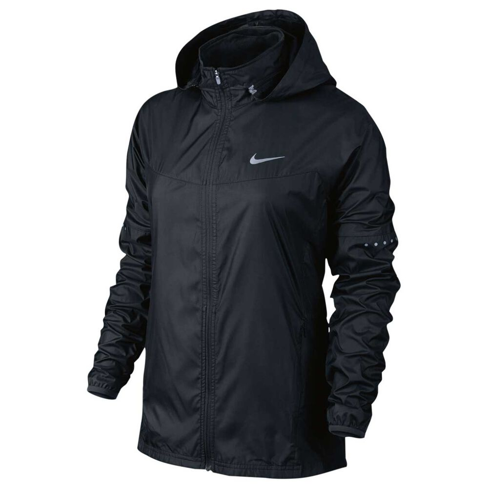 45561e7567b4 Nike Womens Vapor Running Jacket Black XS Adult