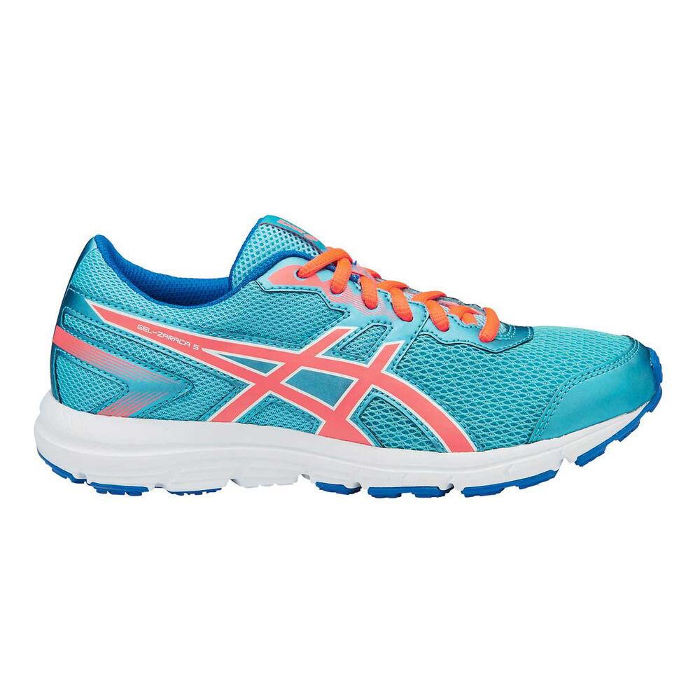 best service 6820a 106fd Asics Gel Zaraca 5 Girls Running Shoes Aqua / Orange US 6