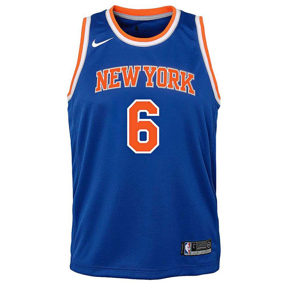31802a0c5ef9d Nike New York Knicks Kristaps Porzingis Icon Kids Swingman Jersey, ,  rebel_hi-res
