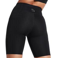 Nimble Womens Made To Move Bike Shorts, Black, rebel_hi-res