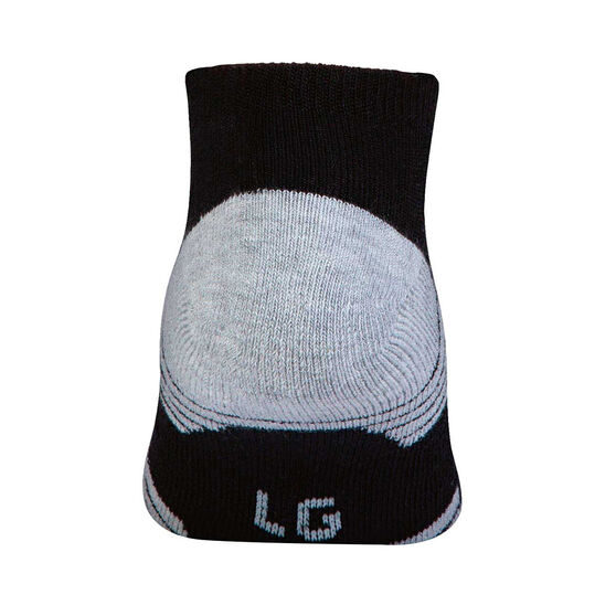 Under Armour Kids HeatGear Low Cut Socks 3 Pack, Black, rebel_hi-res