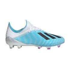adidas X 19.1 Football Boots Blue / Black US Mens 7 / Womens 8, Blue / Black, rebel_hi-res