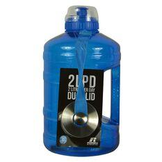 Russell Athletics 2L PD Dual Cap Water Bottle 2200ml Blue, , rebel_hi-res