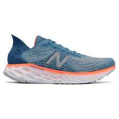 New Balance 1080 v10 Mens Running Shoes Blue/Orange US 7, Blue/Orange, rebel_hi-res