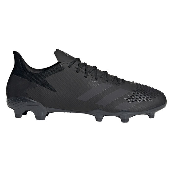 adidas Predator 20.2 Football Boots, Black, rebel_hi-res