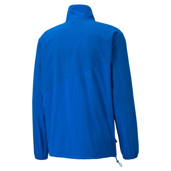 Puma x First Mile Mens Mono Training Jacket, Blue, rebel_hi-res