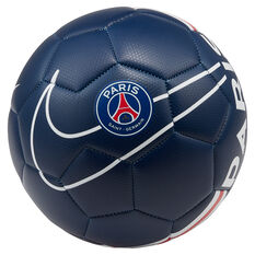 Nike Paris Saint Germain FC Prestige Soccer Ball Navy / Red 4, Navy / Red, rebel_hi-res