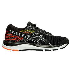 Asics GEL Cumulus 21 Kids Running Shoes Black / Orange US 4, Black / Orange, rebel_hi-res
