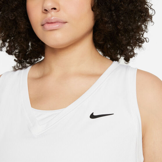 NikeCourt Womens Victory Tennis Tank, White, rebel_hi-res