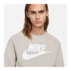 Nike Mens Sportswear Fleece Crew, Grey, rebel_hi-res