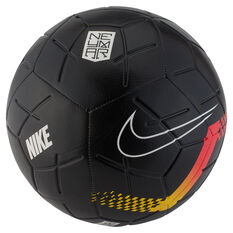 Nike Neymar Strike Soccer Ball Black / Silver 3, Black / Silver, rebel_hi-res
