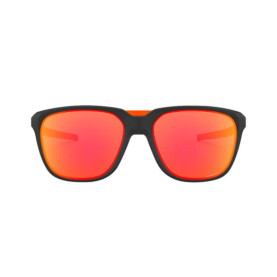 OAKLEY Anorak Sunglasses - Matte Black with PRIZM Ruby, , rebel_hi-res