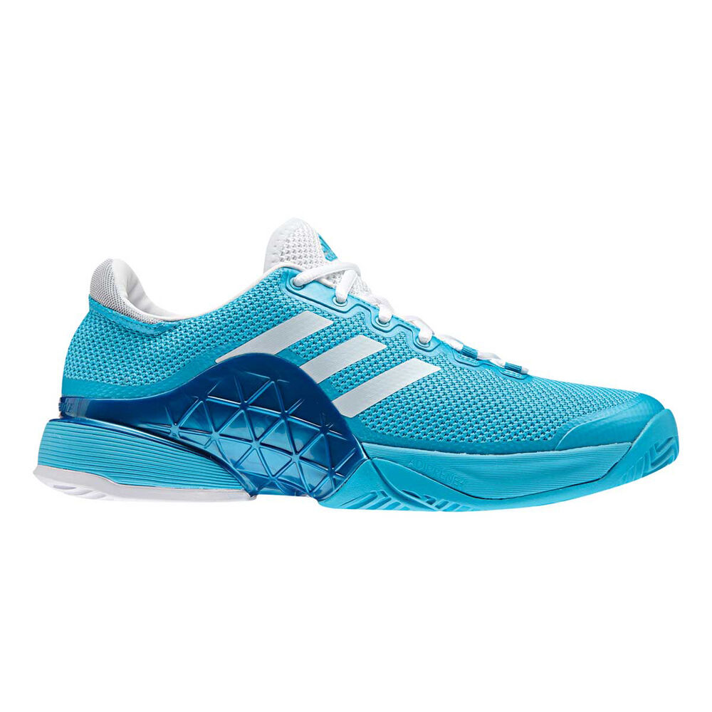 huge discount 95013 7eaa8 adidas Barricade 2017 Mens Tennis Shoes Blue  White US 10, Blue  White,