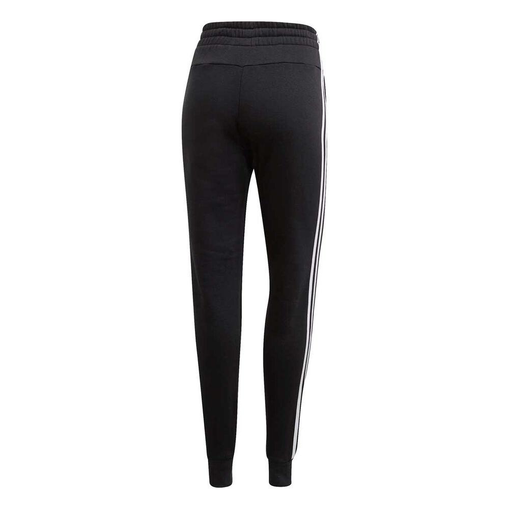 cbaaae2f7de2bc adidas Womens Essentials 3 Stripes Jogger Pants, Black, rebel_hi-res