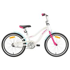Flight Girls Cruiser 115 20in Bike White 50cm, , rebel_hi-res