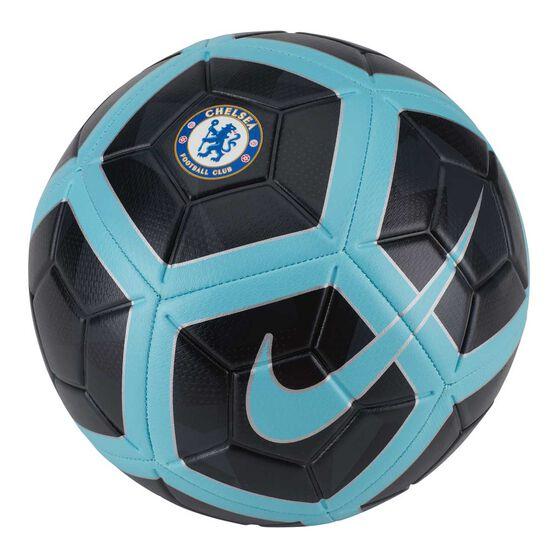Chelsea FC Strike Soccer Ball Black / Blue 5, , rebel_hi-res