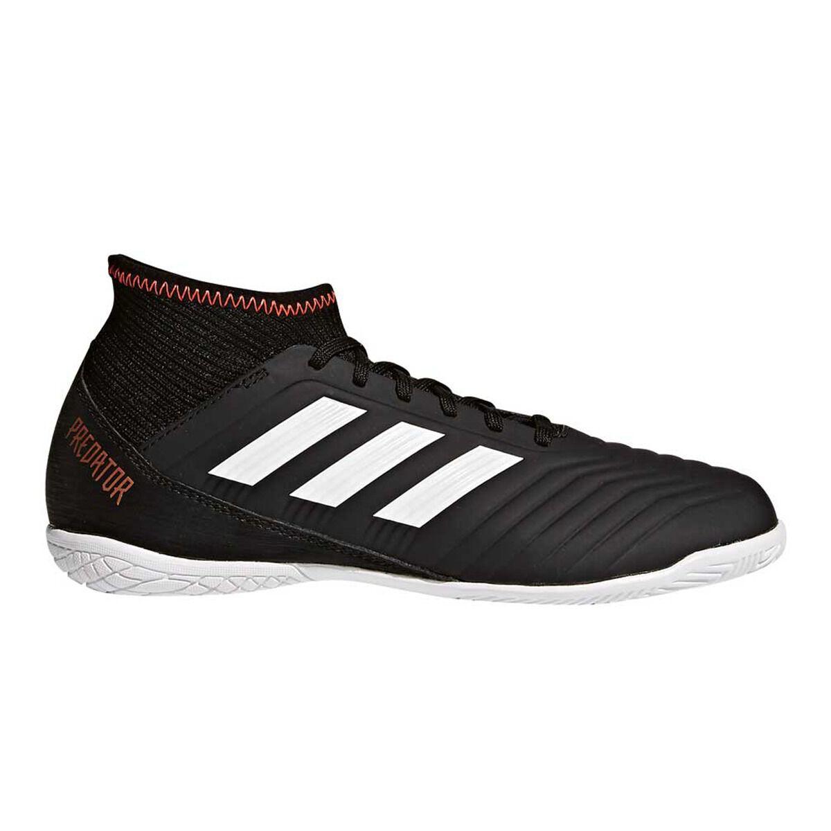 Predator Adidas Shoes Black Tango Soccer 18 3 Junior White Indoor deCxBWro