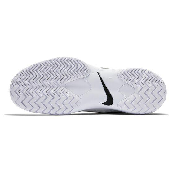 Nike Air Zoom Cage 3 Mens Tennis Shoes, White / Black, rebel_hi-res