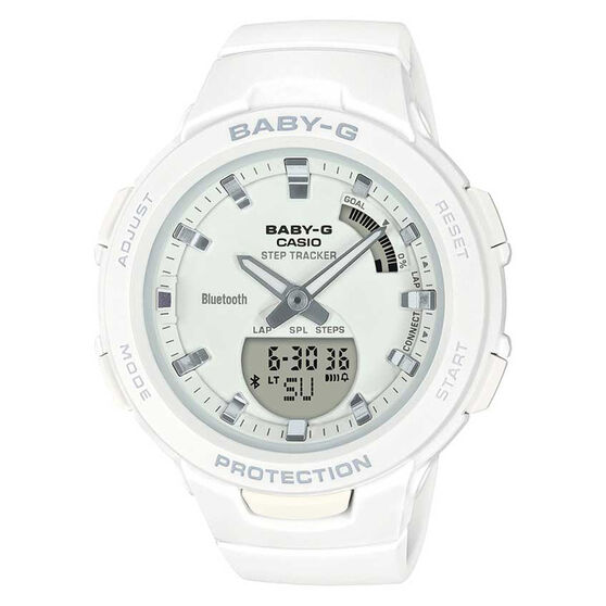 Casio Baby G BSAB1007A Step Tracker Watch, , rebel_hi-res