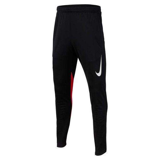 Nike Dri-FIT Boys Neymar Jr. Soccer Pants, Black / Crimson, rebel_hi-res