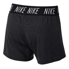 Nike Girls Dry Trophy Training Shorts Black / White XS, Black / White, rebel_hi-res