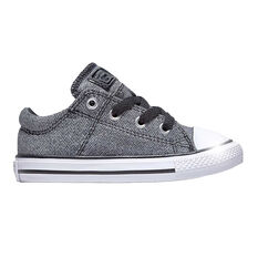 Converse Chuck Taylor All Star Madison Kids Casual Shoes Grey US 4, Grey, rebel_hi-res