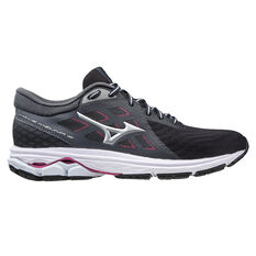 Mizuno Wave Kizuna Womens Running Shoes Grey/Silver US 6, Grey/Silver, rebel_hi-res