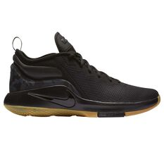 Nike LeBron Witness II Mens Basketball Shoes Black / Brown US 7, Black / Brown, rebel_hi-res